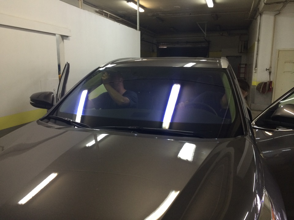 Фиолетовая пленка на авто
