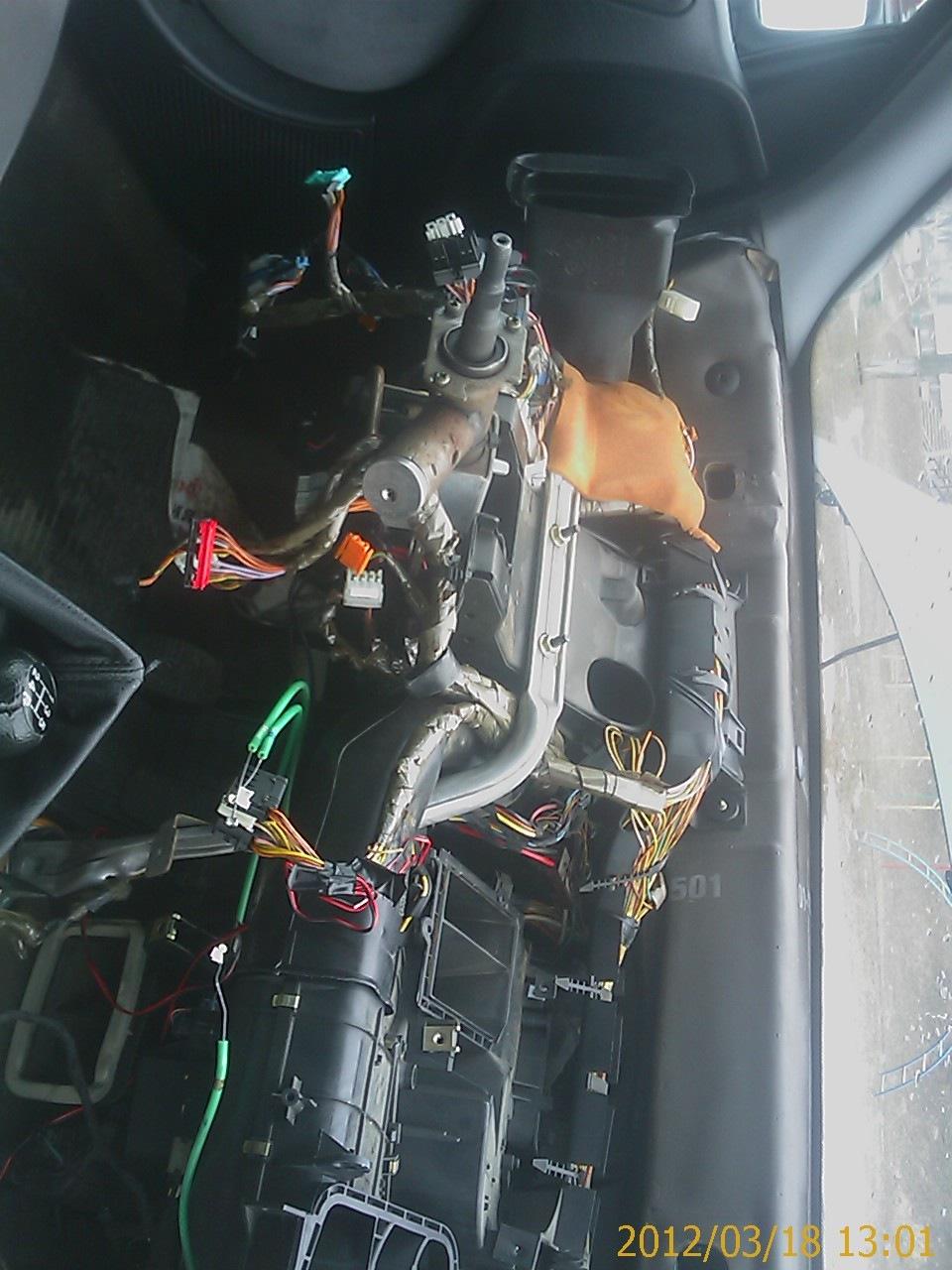 замена краника-радиатора печки ситроен джампер 1998 года