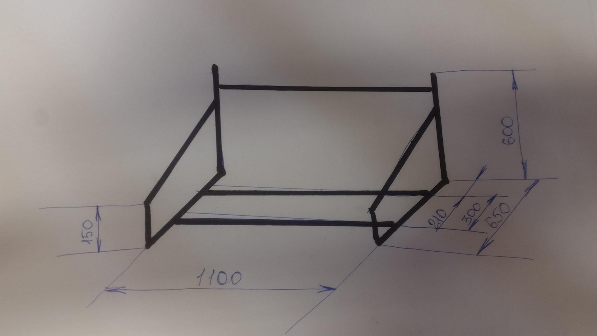 Как сделать стеллаж для хранения шин своими руками 67