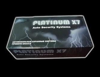 Сигнализация platinum x7 инструкция