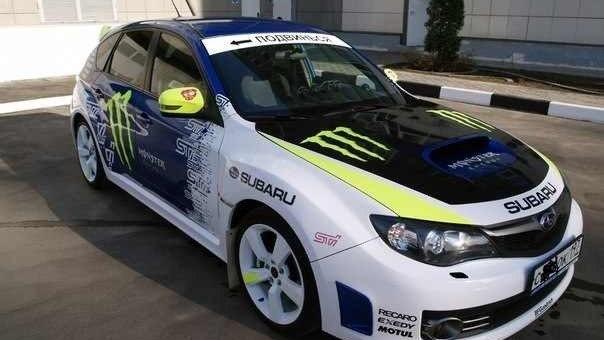 Cars U203a Subaru U203a Impreza WRX STI U203a Impreza WRX STI (GV/GR) U203a Subaru Impreza  WRX STI MONSTER ENERGY