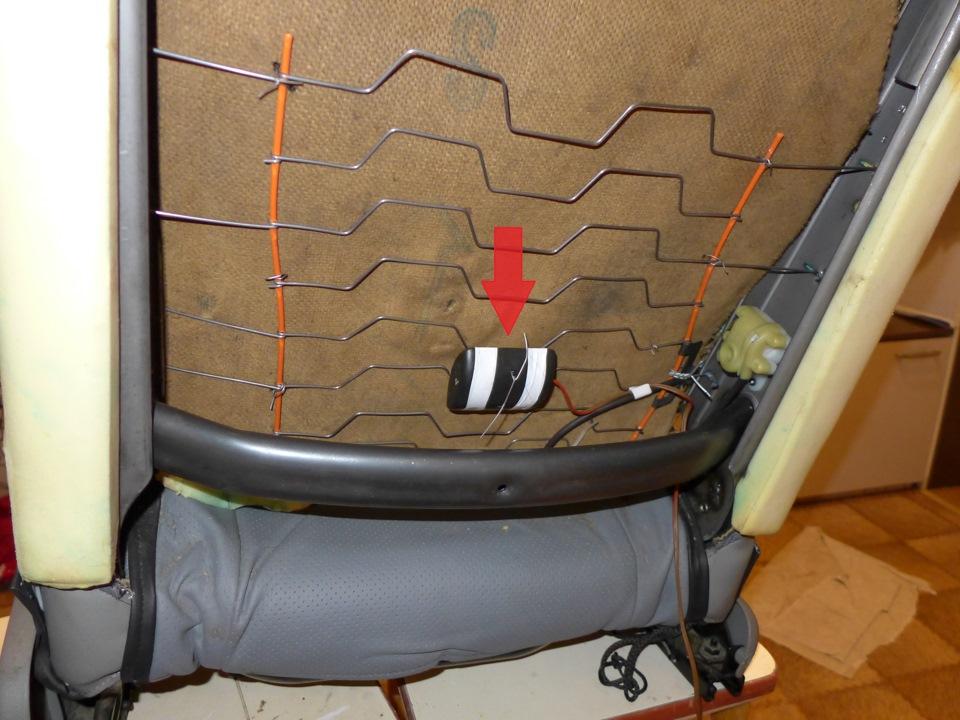 Рено логан ремонт своими руками сидении