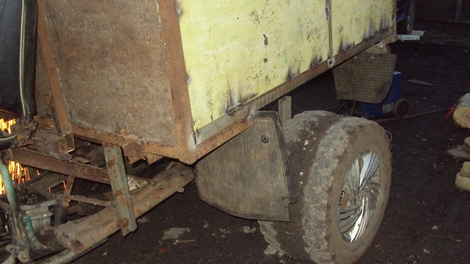 Как сделать с москвича грузовичок своими руками