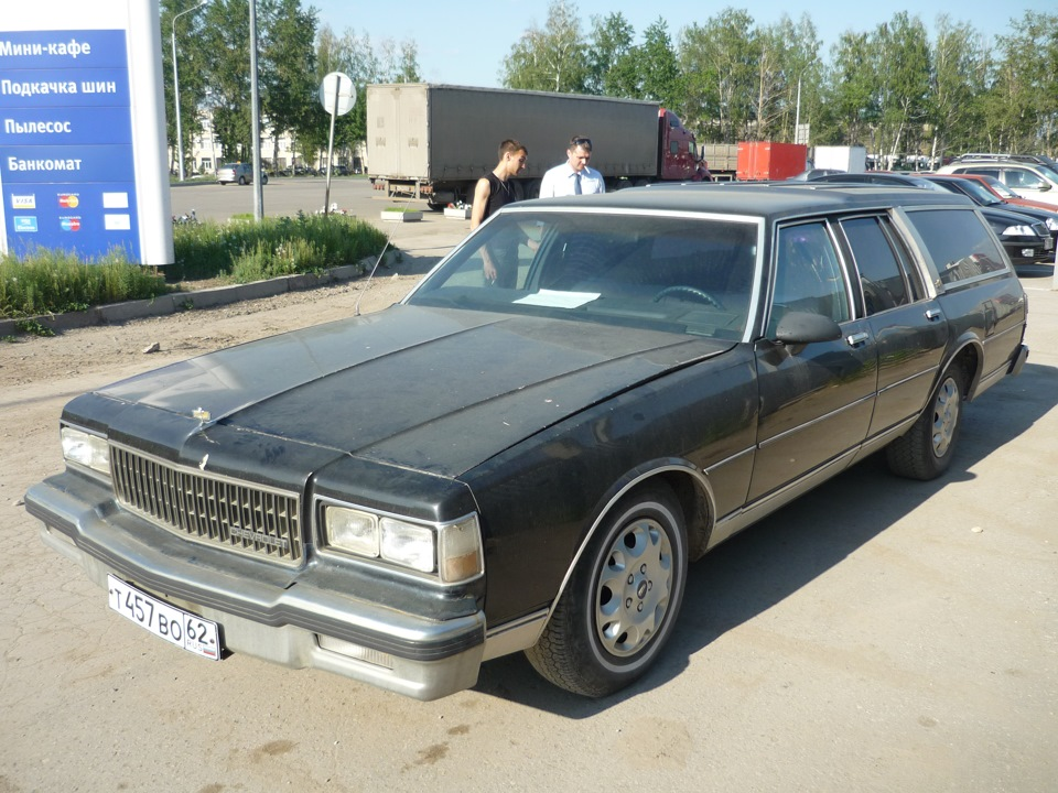 Chevrolet Caprice Classic Wagon 1989 from Russia 1629dbcs-960