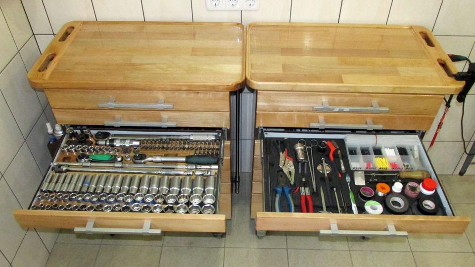 Ящик хранения инструмента своими руками