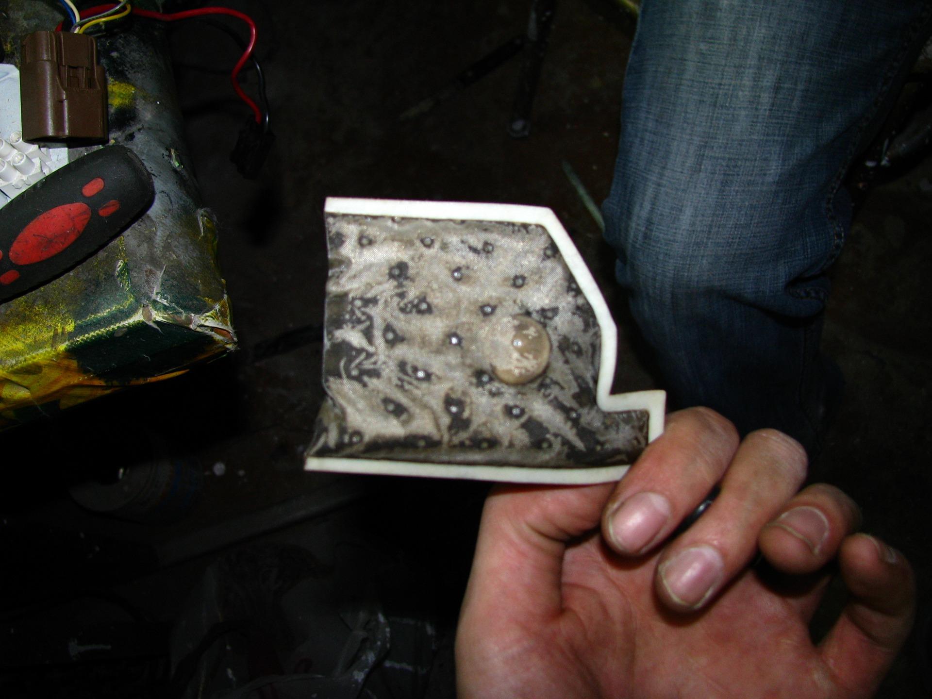 Замена сетки бензонасоса на ваз 2113, ваз