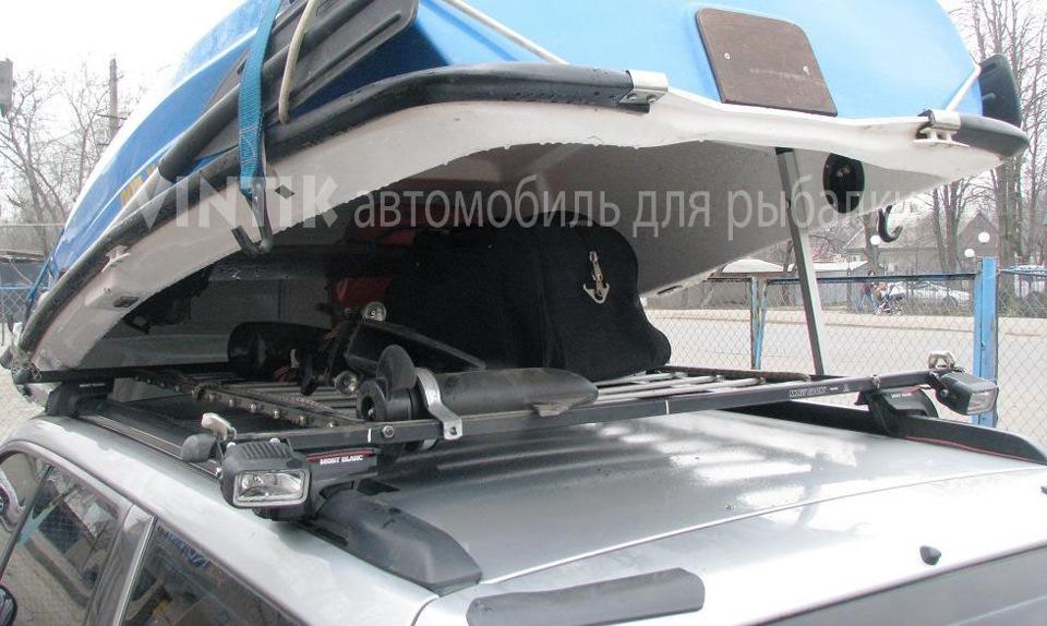 Багажник для перевозки лодки своими руками 47