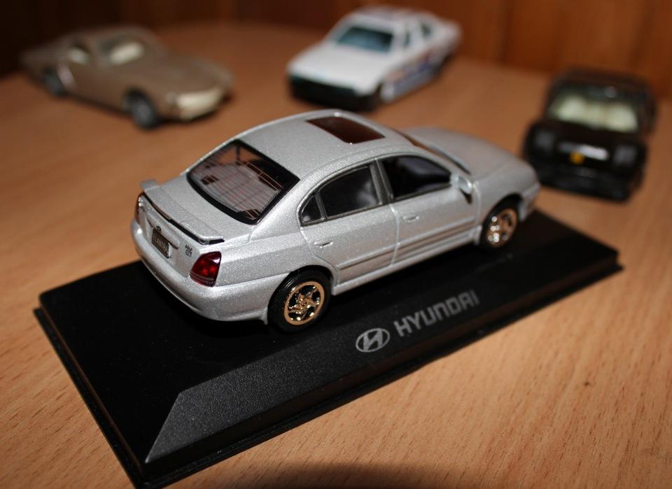 масштабная моделька hyundai ix35