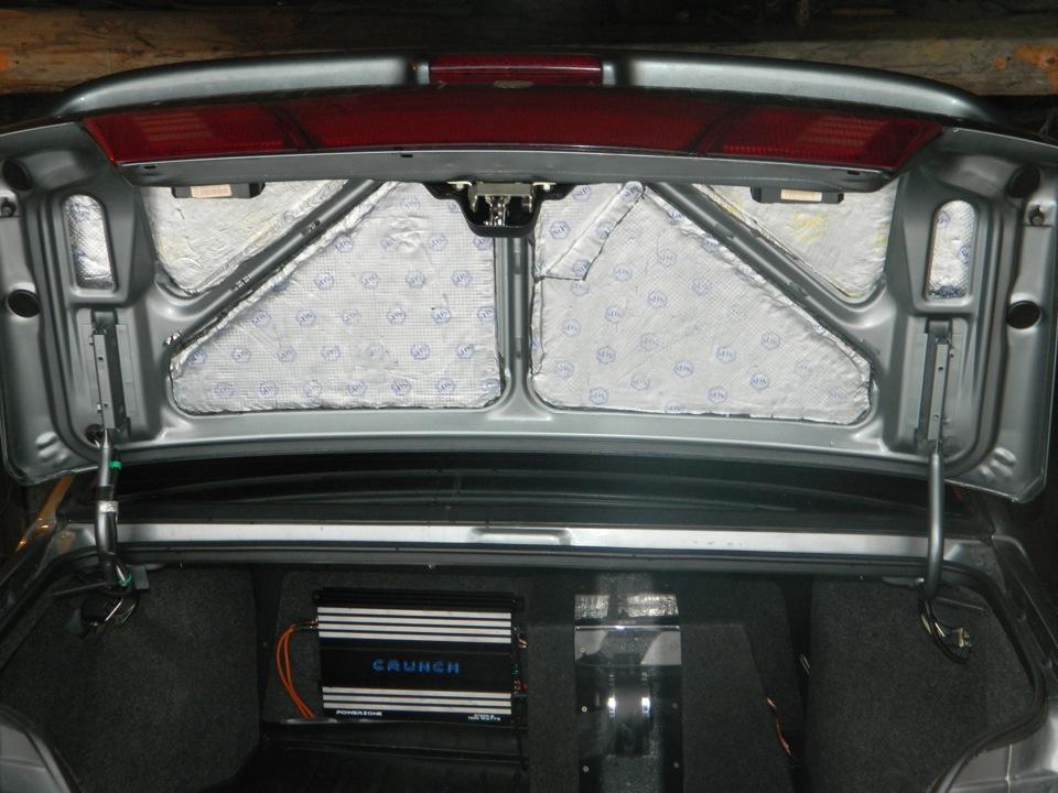 Фото №5 - шумоизоляция крышки багажника ВАЗ 2110