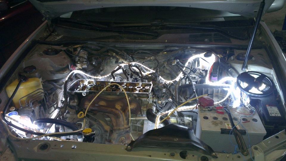 Ремонт двигателя 2AZ-FE 2.4L