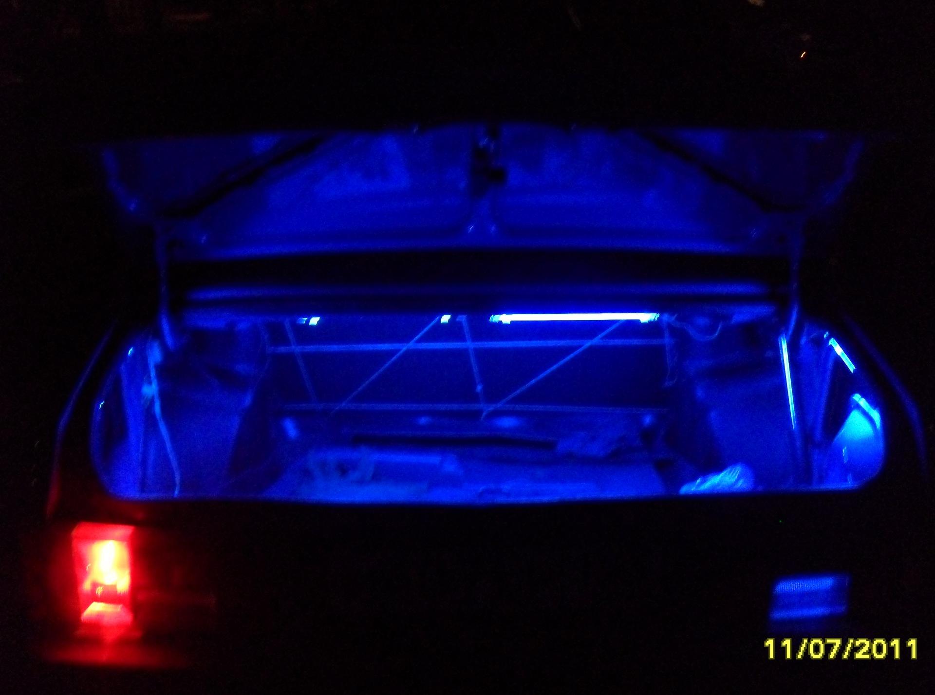Тюнинг салона Ваз 2115 своими руками Подсветка 61