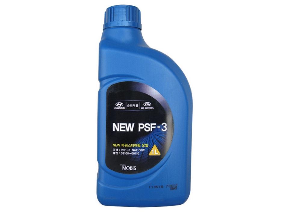 hyundai solaris масло гур psf 3