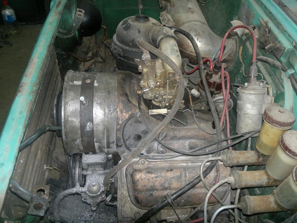 Установка генератора от ВАЗ