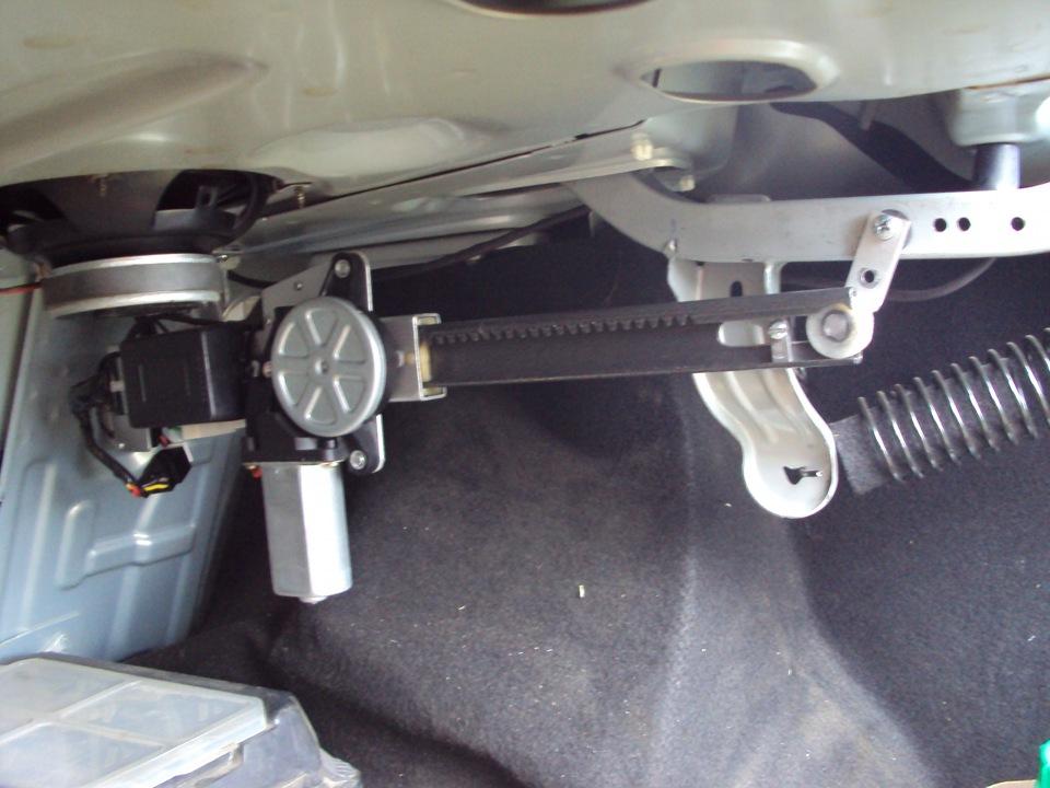 Система открывания багажника своими руками 96