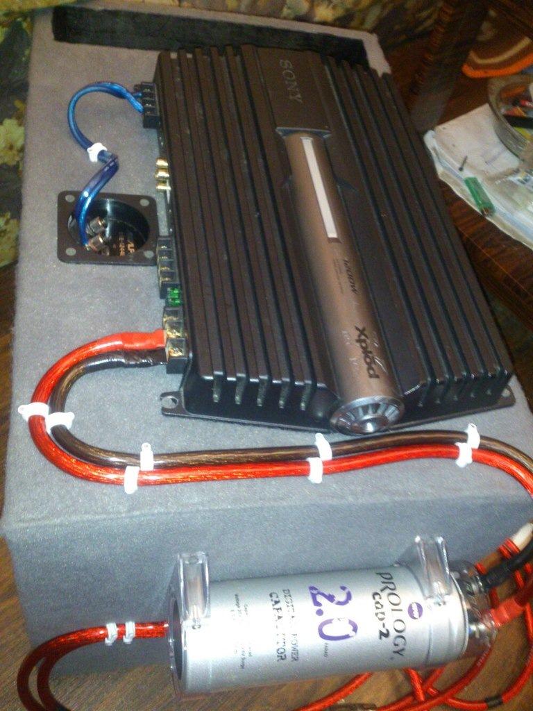 схема пассивный сабвуфер к магнитоле без усилителя фото