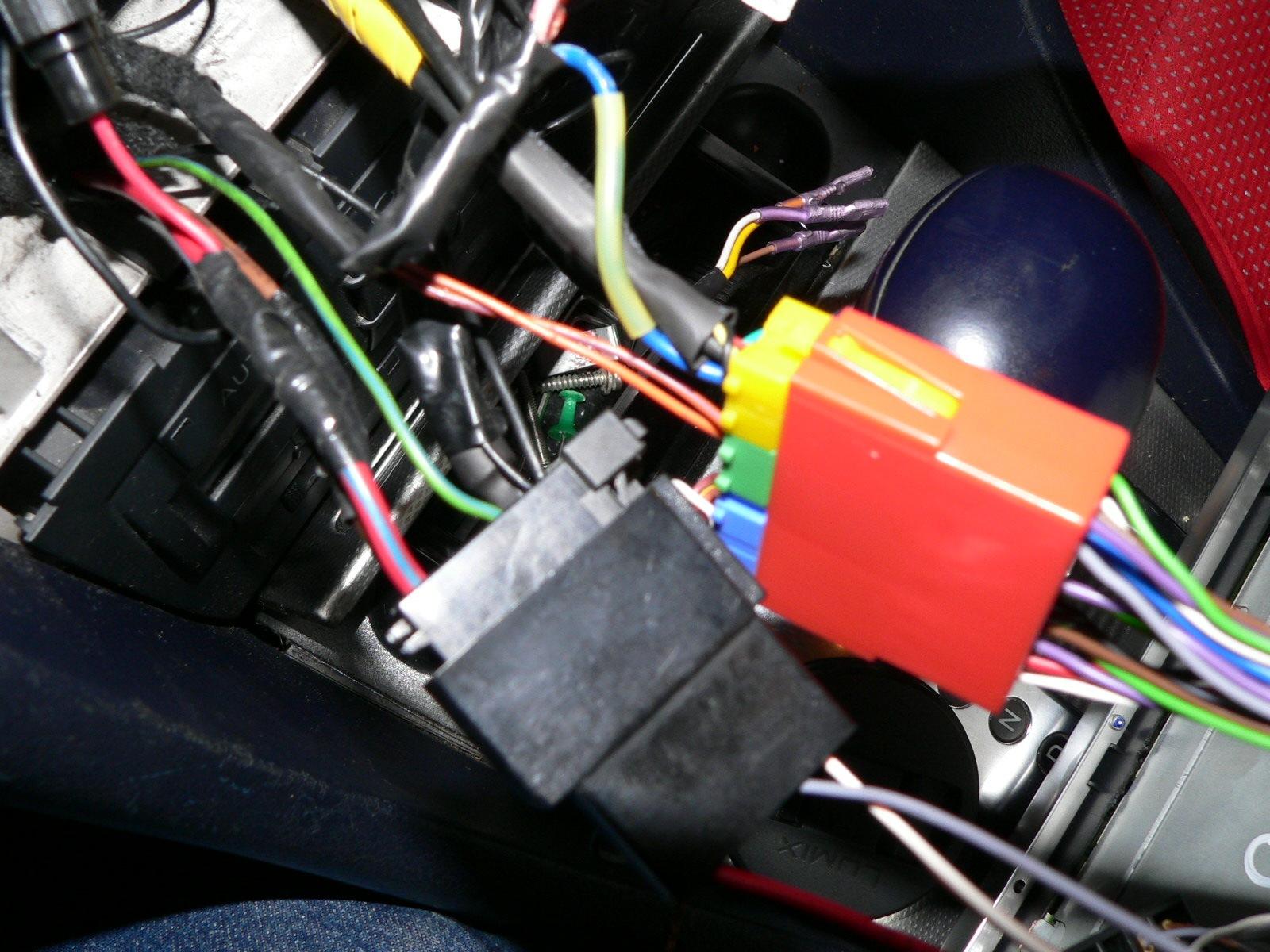 схема подключения магнитолы к штатным разъемам ауди а6