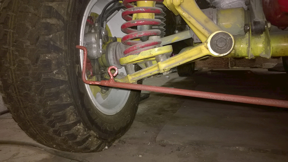 Телескопическая линейка для замера схождения колес