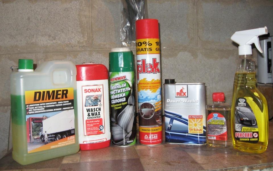 Средство для чистки салона автомобиля своими руками отзывы