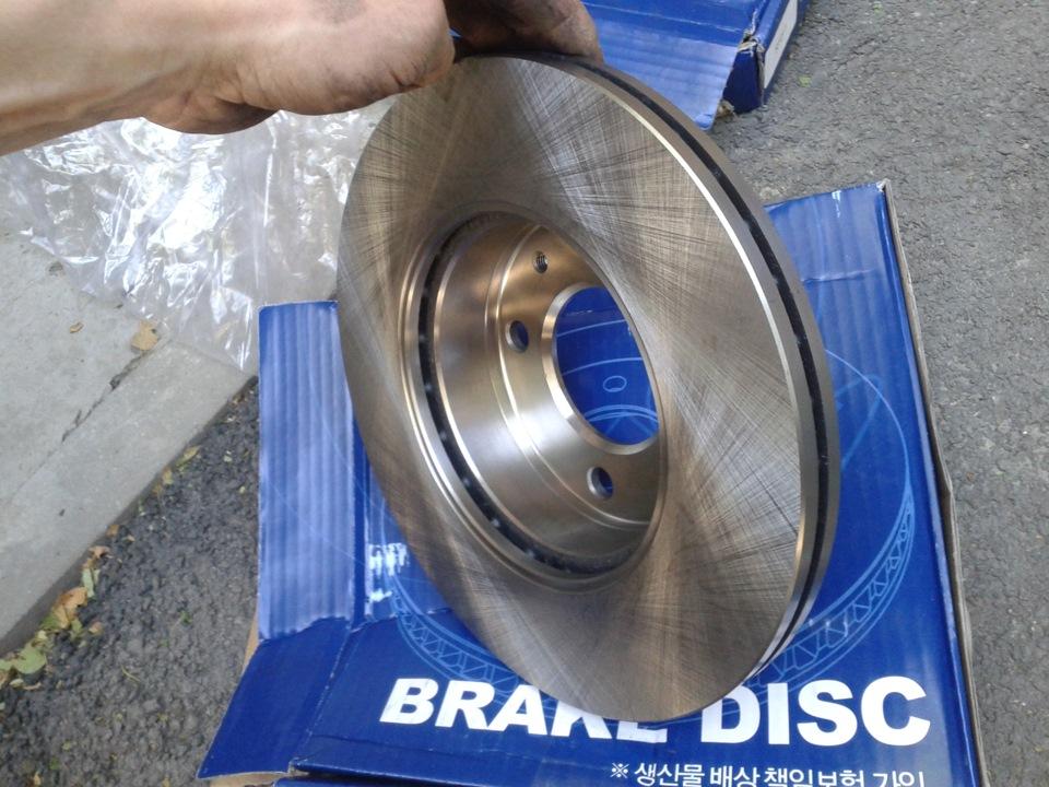 тормозной диск на хендай акцент