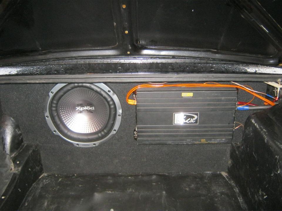 Марафет в багажнике или фальшпол в ваз 2107(часть 1) - бортжурнал Лада 2107 Зато не пешком! 2010 года на DRIVE2