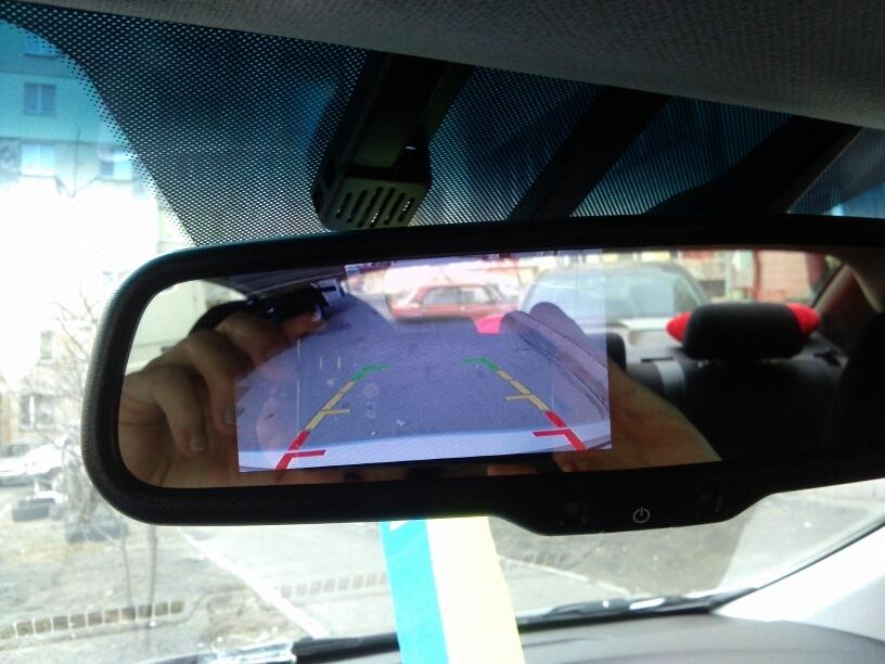 зеркало hyundai с монитором