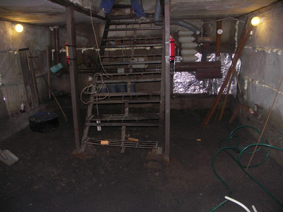 оборудование подвала в гараже