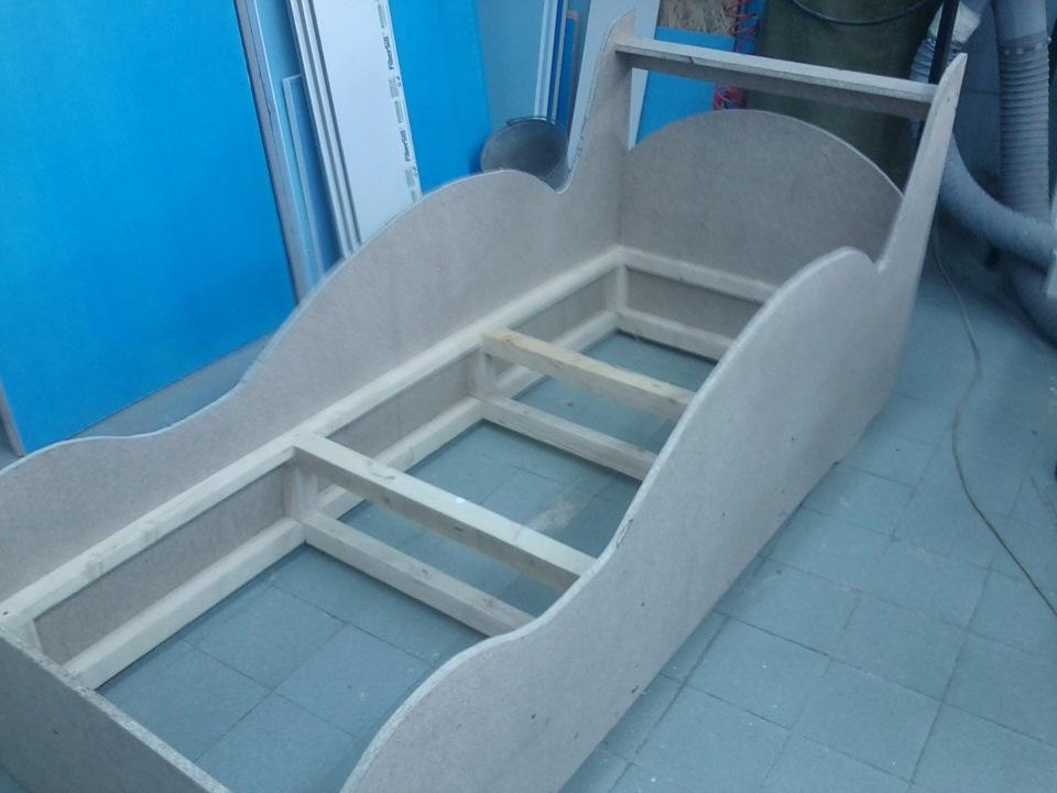 Как сделать кроватку машинку