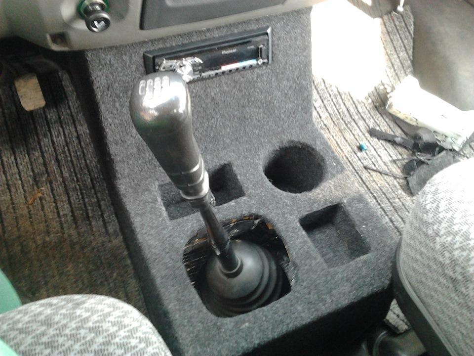 консоль из шифонера) - бортжурнал ГАЗ Соболь Баргузин 2003 года на DRIVE2