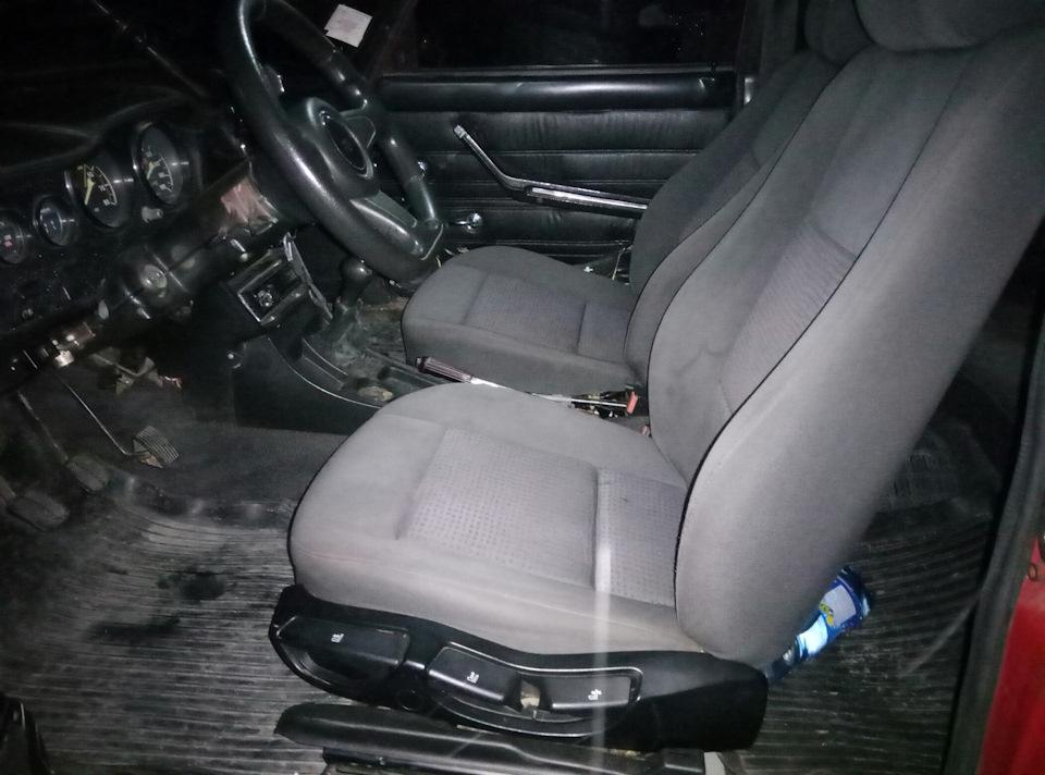 б/у сиденья bmw e36 на ваз 2106