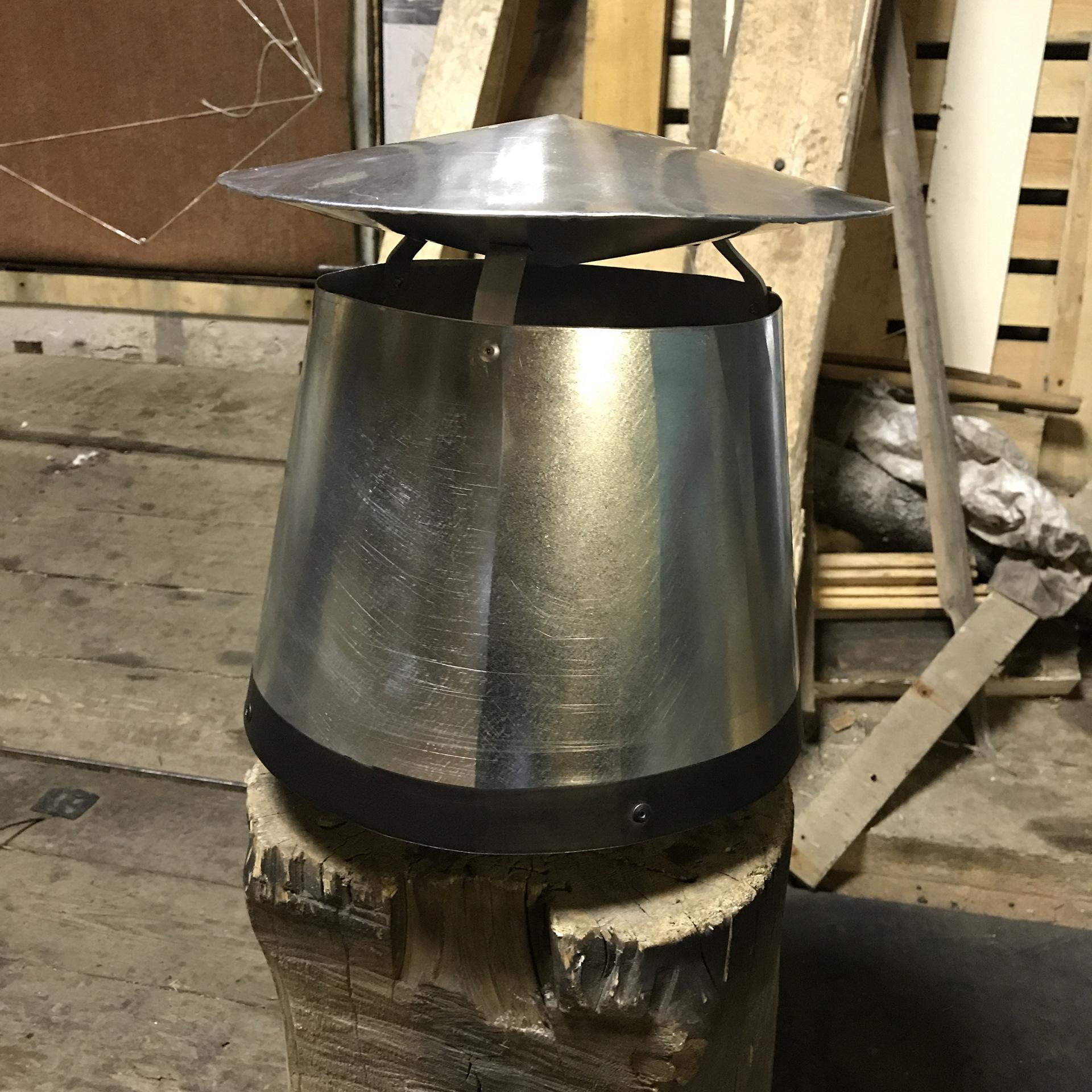 Как сделать усилитель тяги на дымоход размер дымохода от котла