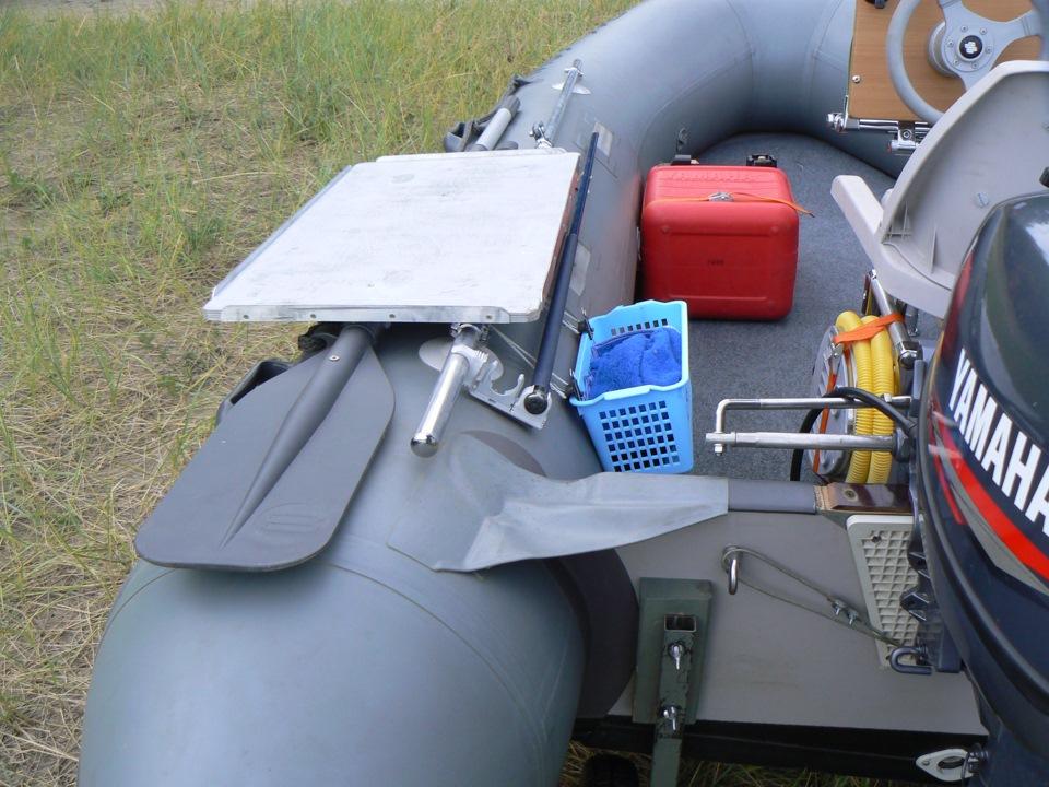 Оборудование для лодки пвх своими руками 637