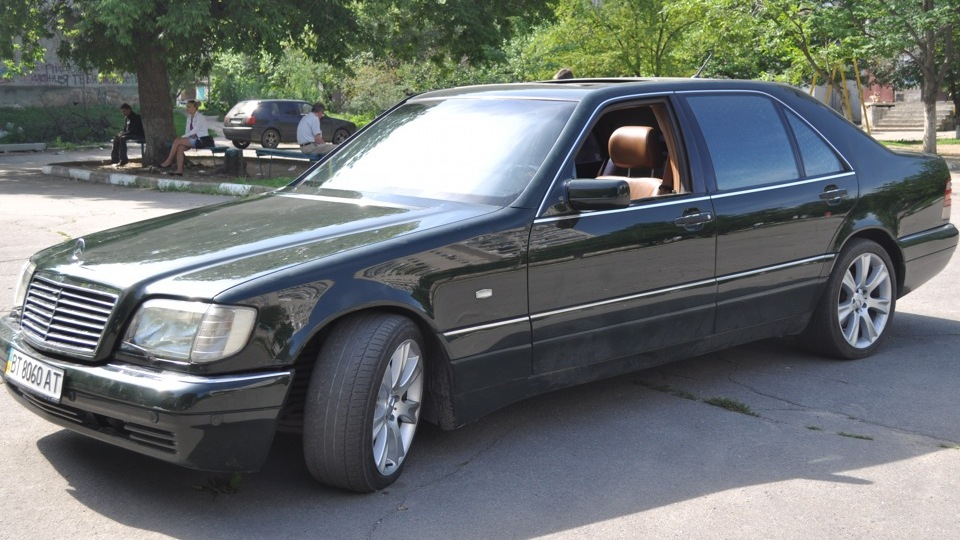Mercedes benz s class s600 drive2 for 1996 mercedes benz s600