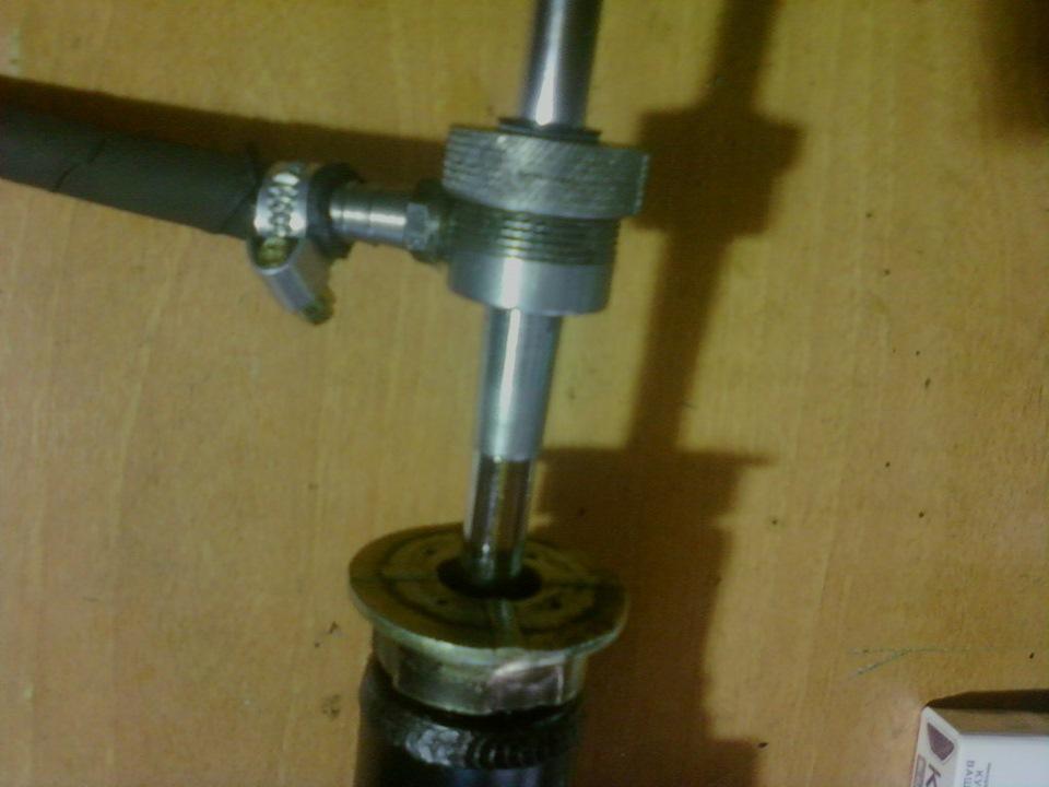 Оборудование для ремонта стоек амортизаторов своими руками