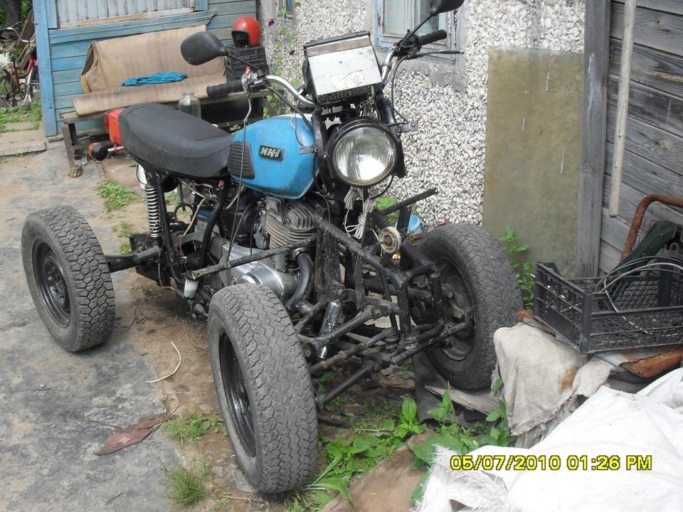 Квадроцикл своими руками с ижа