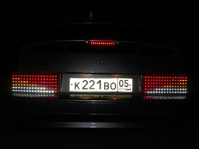 Светодиодные задние фонари ваз 21099 своими руками