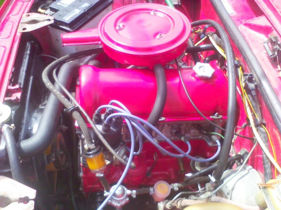 Зборка двигателя