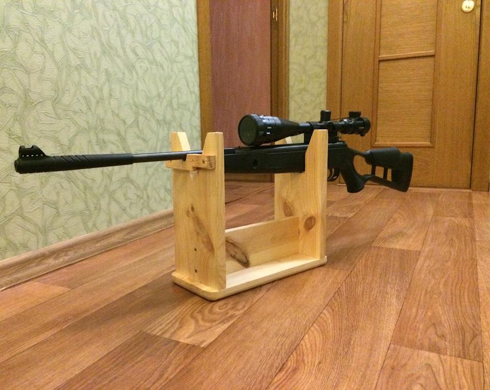 Приспособление для пристрелки карабина своими руками