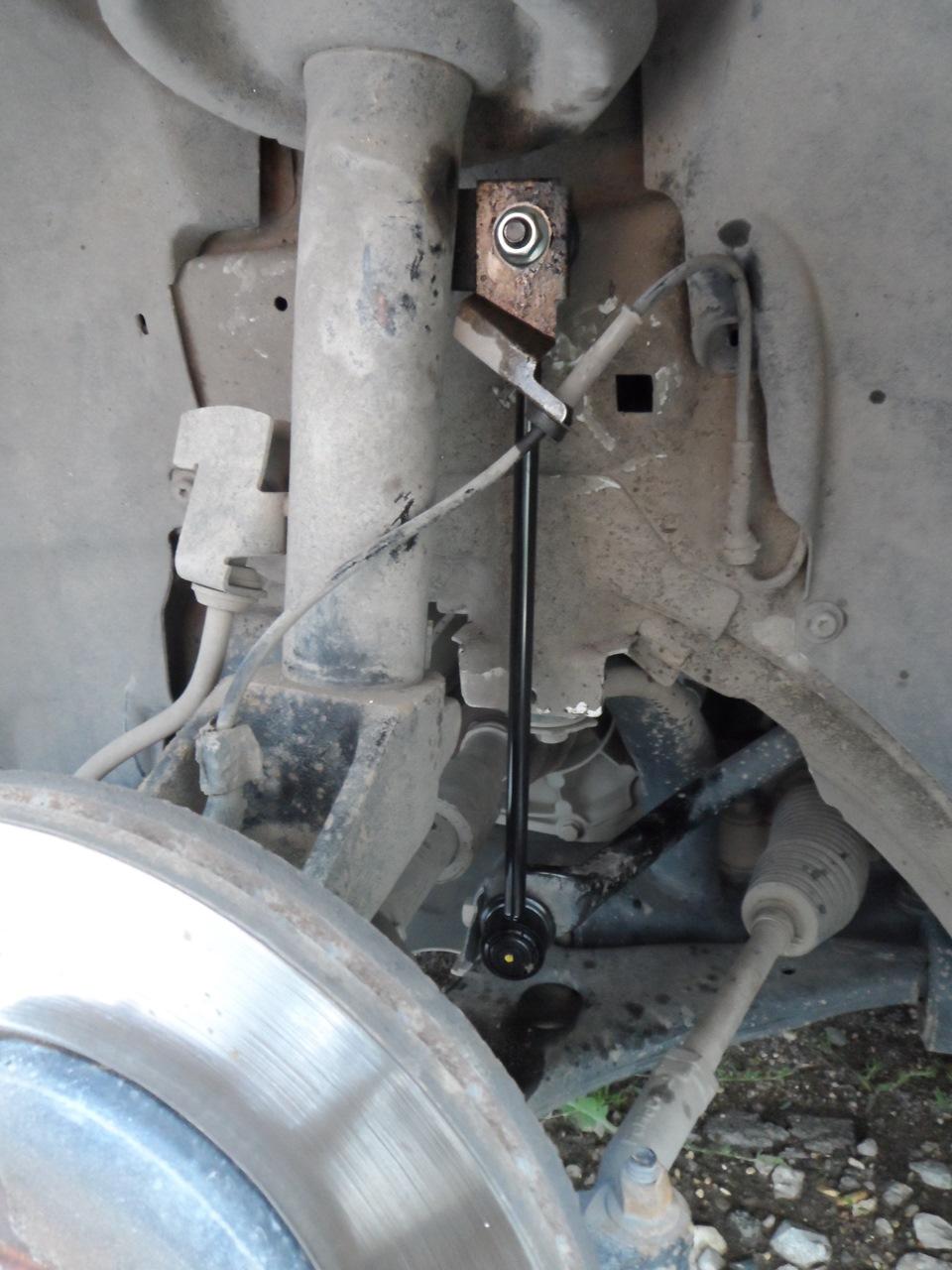 Замена стоек стабилизатора форд фокус 1