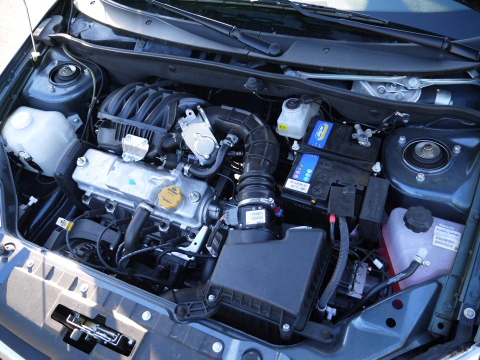 Двигатель гонит масло от