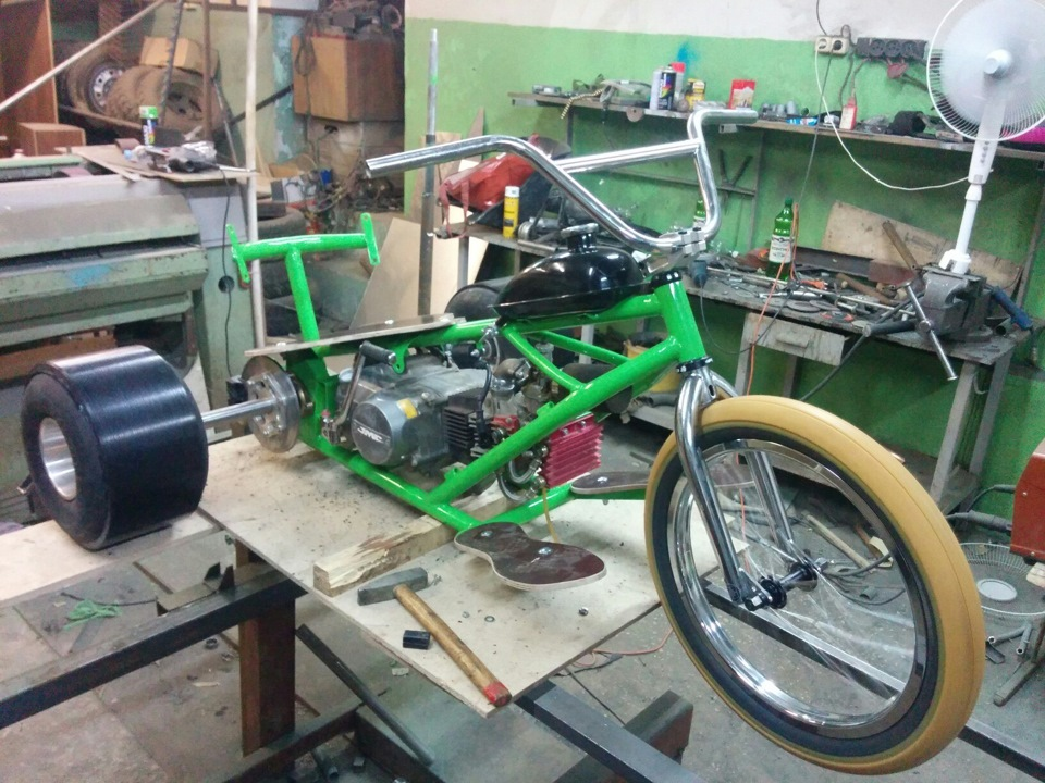 Drift trike с мотором своими руками 878