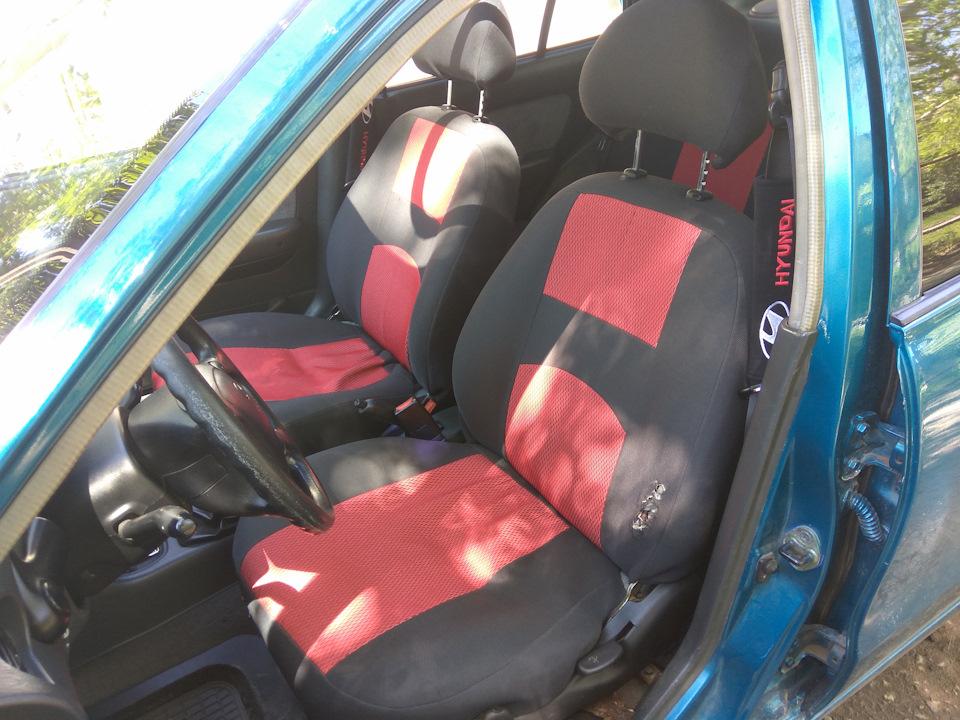 Чехлы на сидения — бортжурнал Hyundai Accent 1.5 GLS 1995 ... 5c0605b6bd242