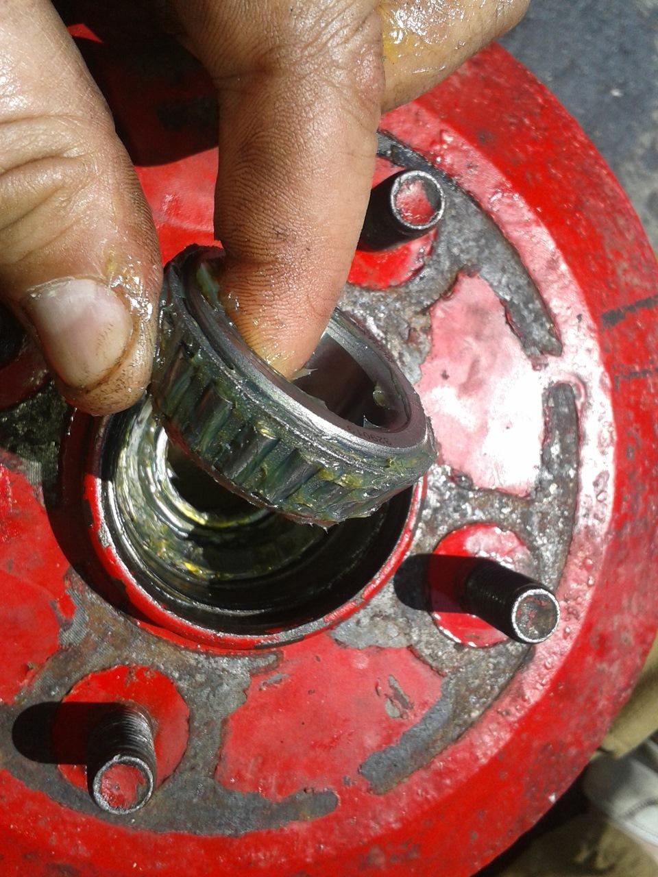 Замена подшипника передней ступицы форд фокус 2 своими руками фото