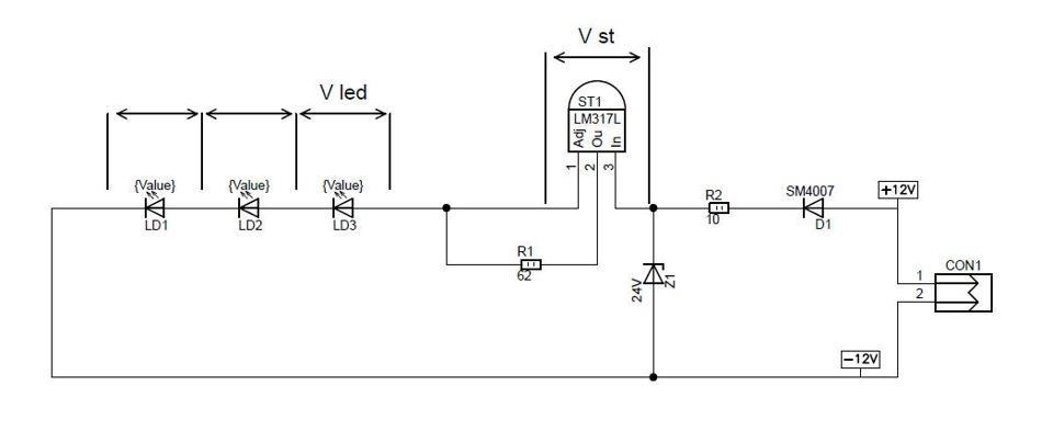 18889e4s 960 - Схема стабилизатора тока для светодиодов