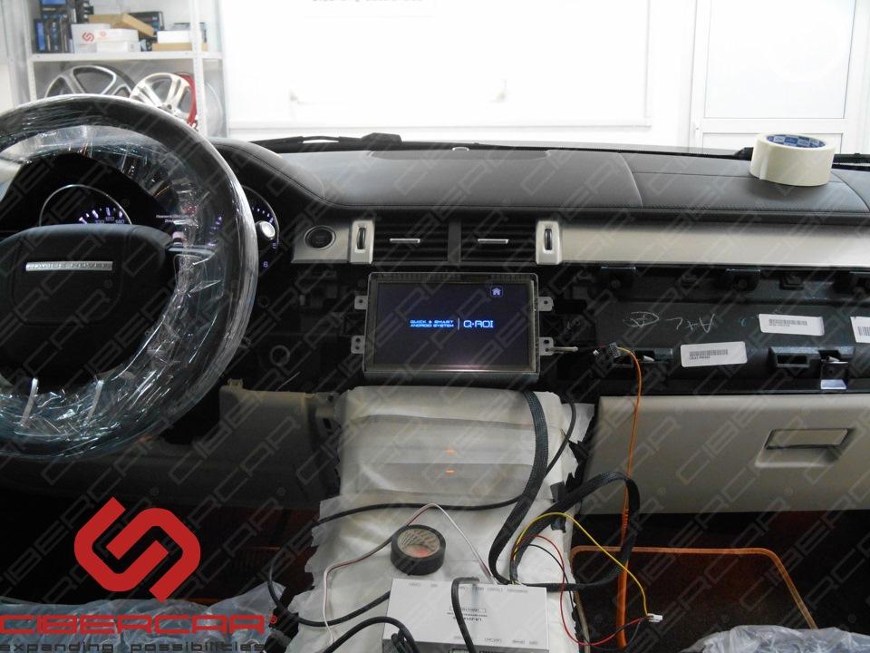 Загрузка навигационного блока на базе ОС Андроид скрытой установки AirTouch 4.0.