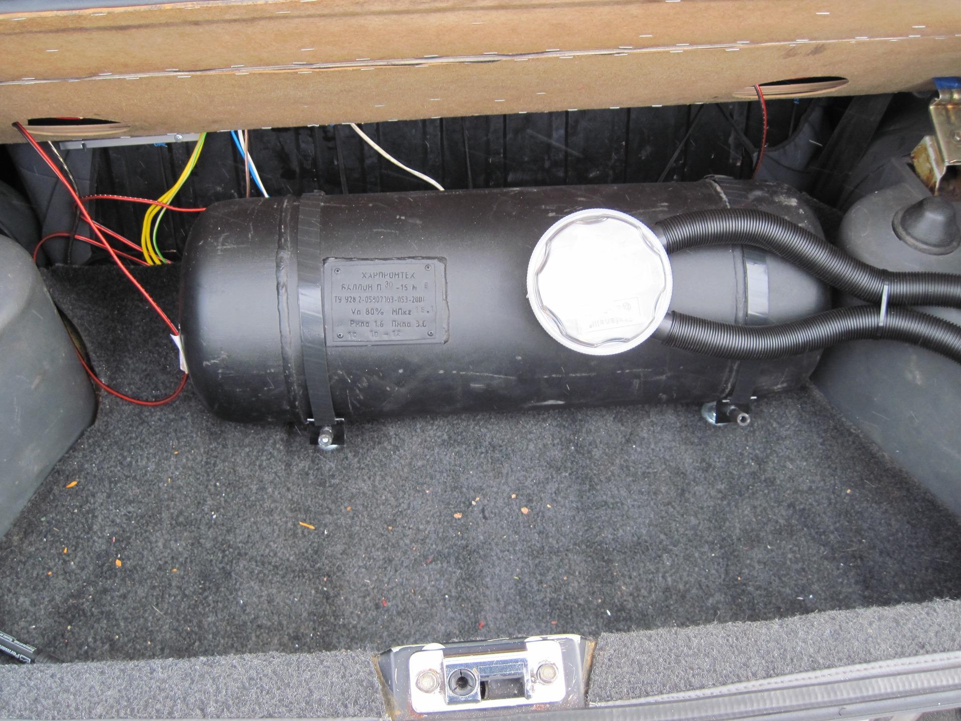 схема установка газа брауна