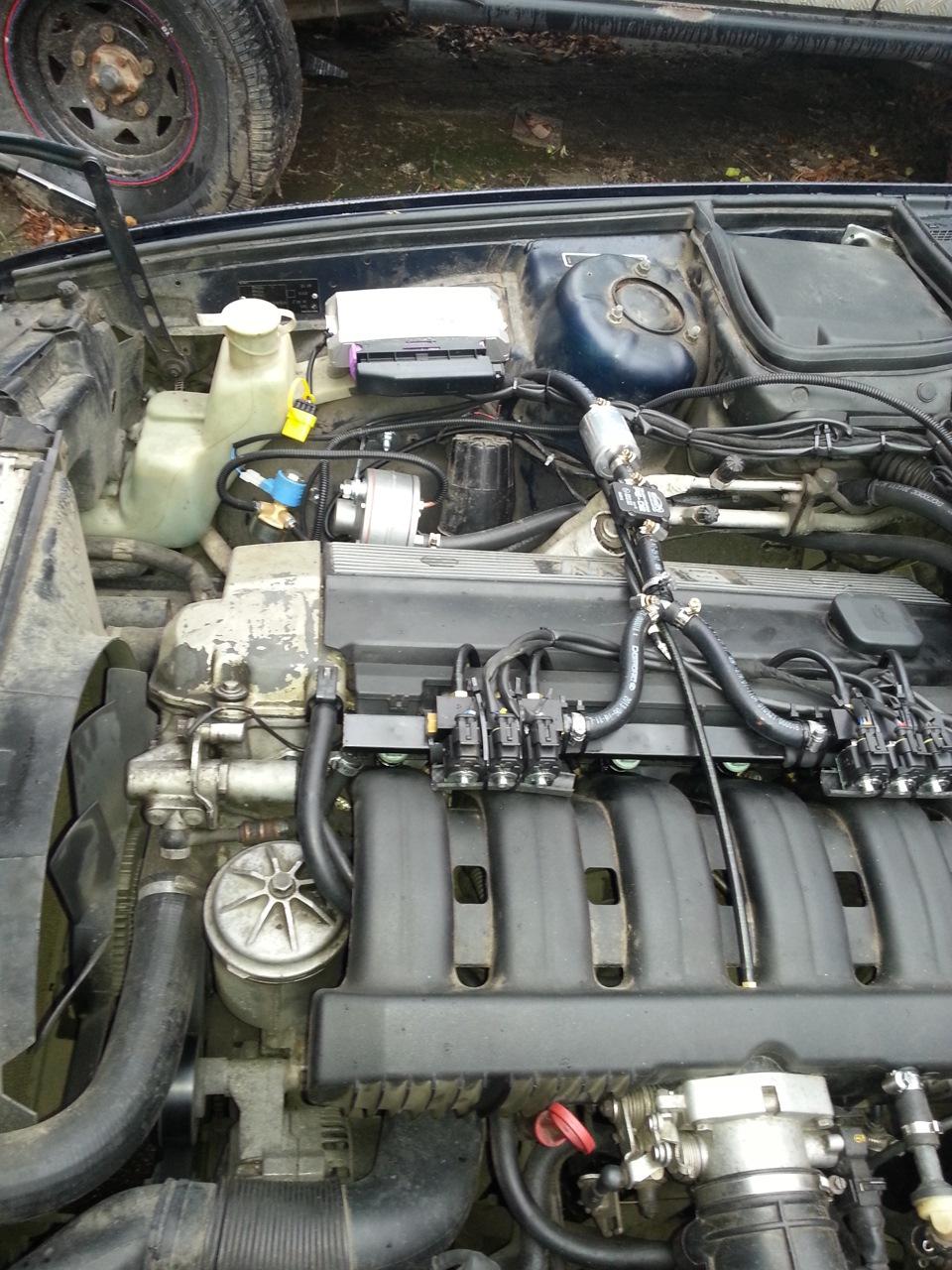можно установить газ 4-го поколения на bmw 5 серии 1990г