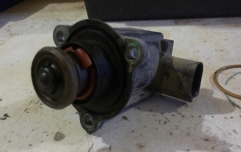 замена клапана турбокомпрессора audi 2.0