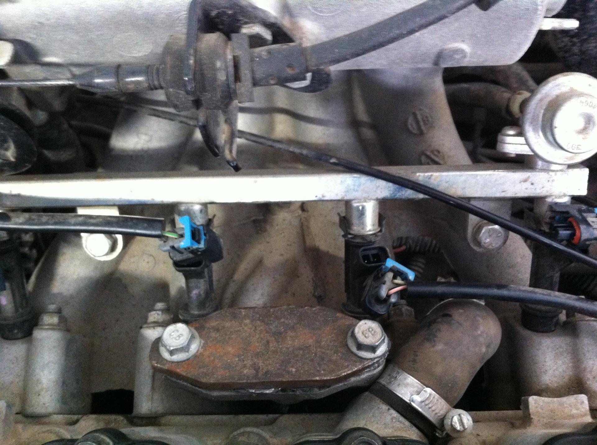 очистка форсунок инжекторного двигателя chevrolet aveo