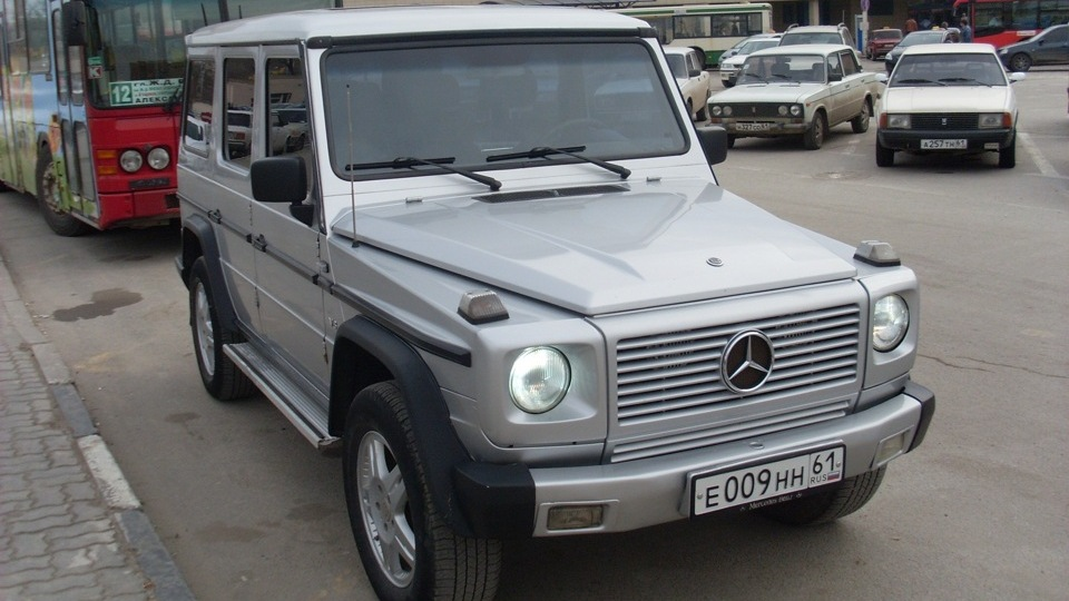 Mercedes benz g class drive2 for Mercedes benz w463 for sale