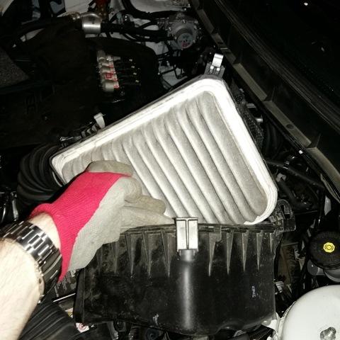 Замена воздушного фильтра asx своими руками